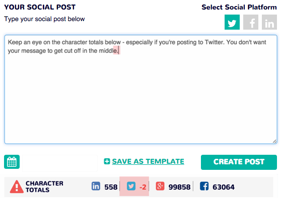 character totals