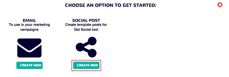 Dot Builder - Create new social post