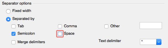 OpenOffice Separator options 2